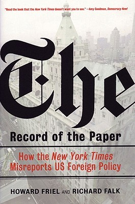 The Record of the Paper by Richard A. Falk