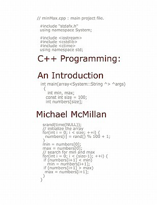 C++ Programming: An Introduction