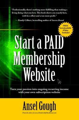 Start a Paid Membership Site
