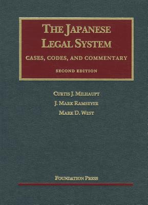 Japanese Legal System, 2D: Cases Codes & Commentary