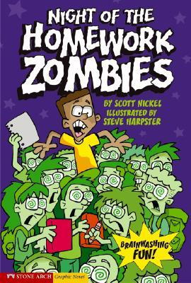 Night Of The Homework Zombies (Graphic Sparks (Graphic Novels))