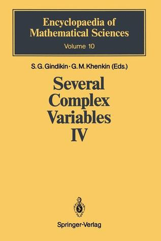 Several Complex Variables IV: Algebraic Aspects of Complex Analysis