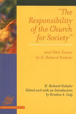 the responsibility of the church for society and other essays by h  2699904