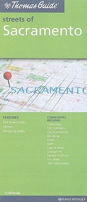 Sacramento, California Map