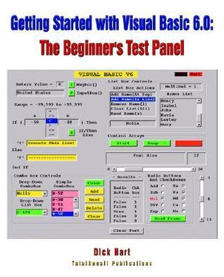Getting Started with Visual Basic 6.0: The Beginner's Test Panel
