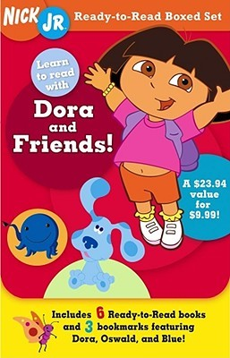 Learn to Read with Dora and Friends!: Nick Jr. Ready-to-Read Boxed ...