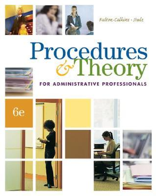 Procedures theory for administrative professionals by patsy fulton 3137890 fandeluxe Images