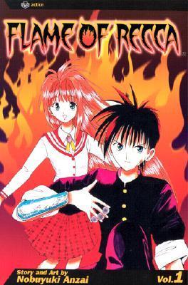 Flame of Recca, Vol. 01 by Nobuyuki Anzai
