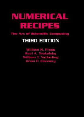 Numerical Recipes: The Art of Scientific Computing