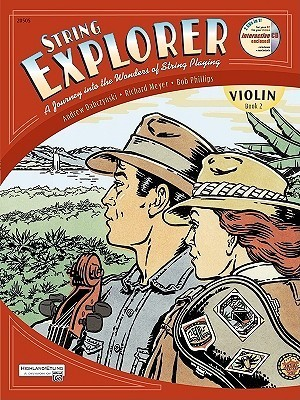 String Explorer, Bk 2: Violin, Book & Interactive CD