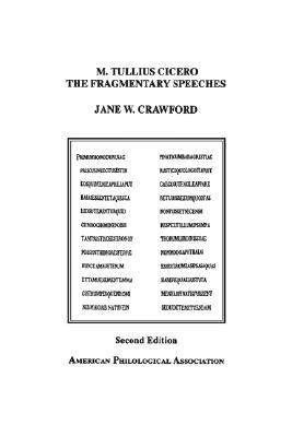 The Fragmentary Speeches: An Edition with Commentary