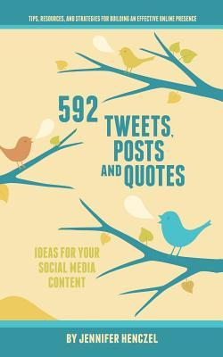 592 Tweets, Posts & Quotes: Ideas for Your Social Media Content