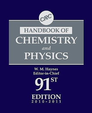 CRC Handbook of Chemistry and Physics, 91st Edition