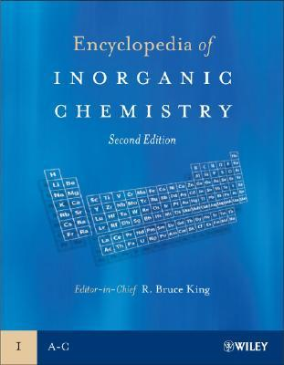 Encyclopedia of Inorganic Chemistry, 10 Volume Set