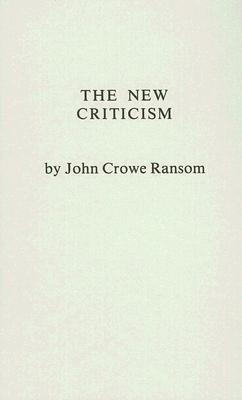 The New Criticism