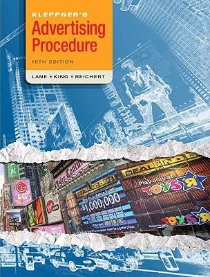 Kleppner's Advertising Procedure: 2 Volumes