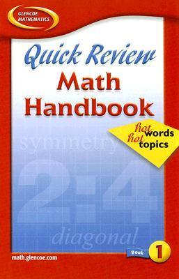 Quick Review Math Handbook: Hot Words, Hot Topics, Book 1, Student Edition