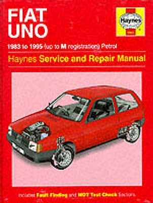 The Fiat Uno (83-95) Service and Repair Manual