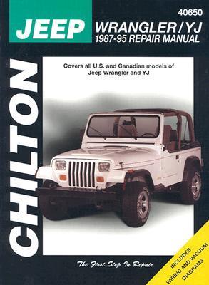 Jeep wrangler yj 1987 95 repair manual by chilton automotive books 48676 publicscrutiny Choice Image
