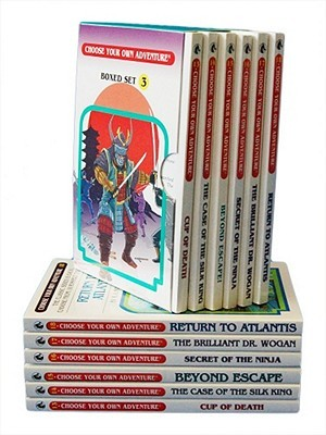 Cup of Death / The Case of the Silk King / Beyond Escape! / Secret of the Ninja / The Brilliant Dr. Wogan / Return to Atlantis (Choose Your Own Adventure 13-18) (Box Set 3)