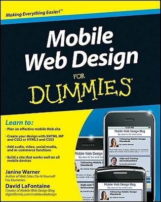 Mobile Web Design for Dummies by Janine Warner
