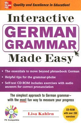 Interactive German Grammar Made Easy [With CDROM]