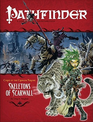 Pathfinder Adventure Path #11: Skeletons of Scarwall