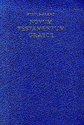 Novum Testamentum Graece by Anonymous