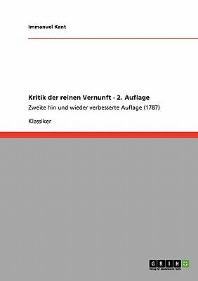 Kritik der reinen Vernunft 2. Auflage