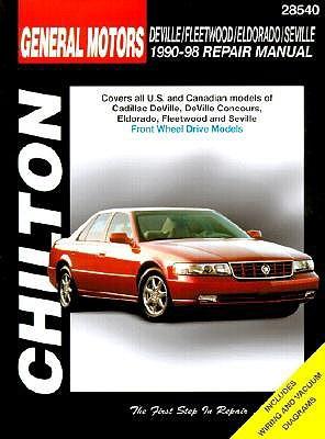 GM Cadillac Deville, Fleetwood, Eldorado, and Seville, 1990-98