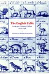 The English Fable: Aesop and Literary Culture, 1651 1740