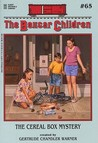 The Cereal Box Mystery (The Boxcar Children, #65)