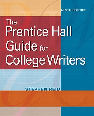 Prentice hall guide for college writers full edition with prentice hall guide for college writers full edition with handbook by stephen p reid fandeluxe Gallery
