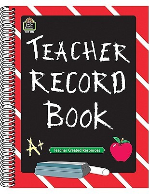 teacher record book by teacher created materials