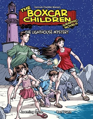 The Lighthouse Mystery (The Boxcar Children Graphic Novels, #14)