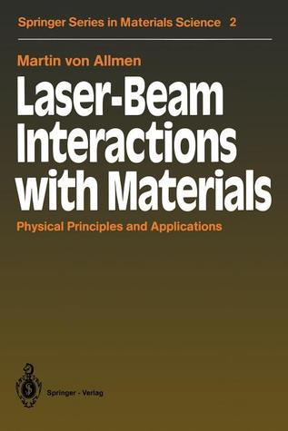Laser-Beam Interactions with Materials: Physical Principles and Applications