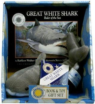 "Great White Shark: Ruler of the Sea/Mini Book and 8"" Plush Toy Set (Smithsonian Oceanic Collection)"