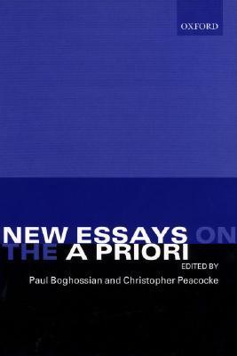 New Essays on the a Priori