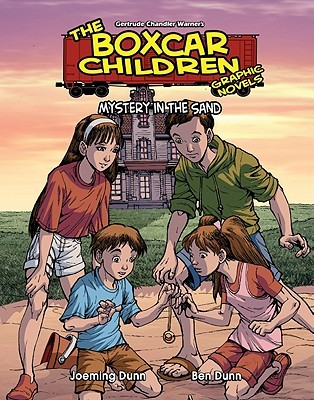 Mystery in the Sand (The Boxcar Children Graphic Novels, #18)