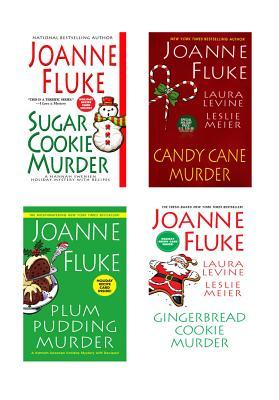 Ebook Joanne Fluke Christmas Bundle: Sugar Cookie Murder, Candy Cane Murder, Plum Pudding Murder, & Gingerbread Cookie Murder by Joanne Fluke TXT!