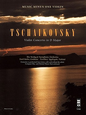 Music Minus One Violin: Tchaikovsky Violin Concerto in D major, op. 35 (Book & CD)