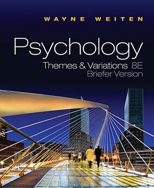 Psychology: Themes and Variations, Briefer Edition