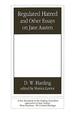regulated hatred and other essays on jane austen by denys clement  2718294