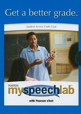 MySpeechLab Student Access Code Card for Public Speaking