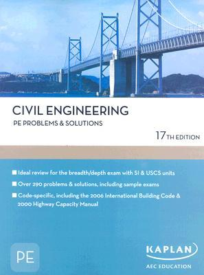 Civil Engineering PE Problems & Solutions