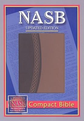 NASB Compact Bible, Brown/Light Brown, LT