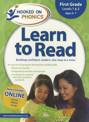 Hooked on Phonics Learn to Read - Levels 56 Complete: Beginning Phonics (Emergent Readers   First Grade   Ages 6-7)