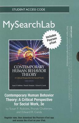 Mysearchlab with Pearson Etext -- Standalone Access Card -- For Contemporary Human Behavior Theory: A Critical Perspective for Social Work