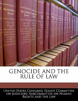 Genocide and the Rule of Law