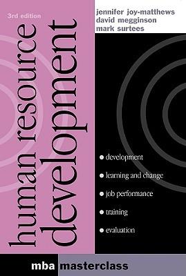 Human Resource Development by Jennifer Joy-Matthews